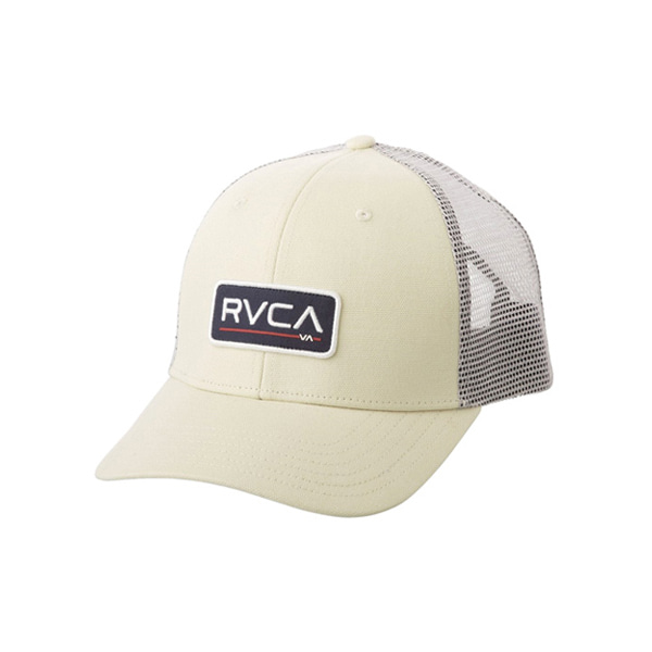 RVCA/루카 매쉬캡 서핑모자 IRA903CR [03] / CRE (CREAM) RVCA TICKET TRUCKER II MAHWQRTT