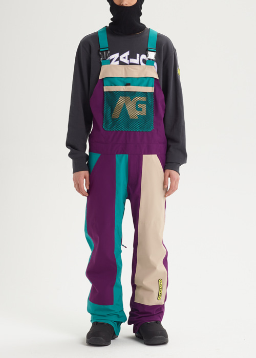 아날로그 아이스 아웃 빕 팬츠_RELAXED FIT_1920 ANALOG_ICE OUT BIB PANT_SAFARI/GREEN-BLUE SLATE/CHARISMA_9A4902P6 [03]