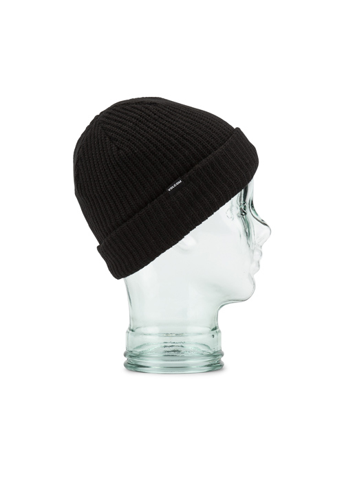 볼컴 유스 스윕라인 바이 비니_모자_1920 VOLCOM YOUTH SWEEPLINED BY BEANIE_BLK  [BLACK]_(L5852000)_IV5922BK [51]