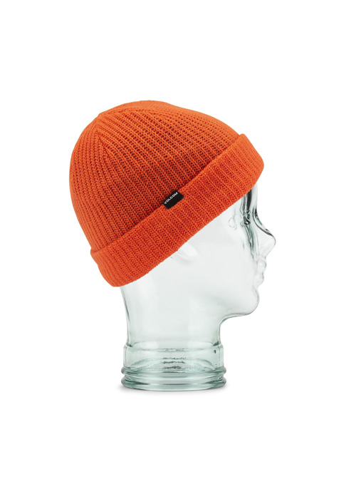 볼컴 유스 스윕라인 바이 비니_모자_1920 VOLCOM YOUTH SWEEPLINED BY BEANIE_ORG  [ORANGE]_(L5852000)_IV5922OR [52]