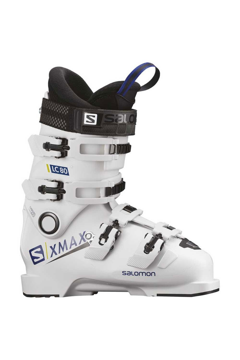 살로몬 주니어 부츠 엑스 맥스 LC 80_SALOMON X MAX LC 80(98)L40550300 WHITE/RACE BLUE_VSA81800_BVSA81800