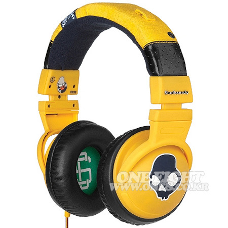 SKULLCANDY / #[스컬캔디 헤드폰]OVER-EAR HESH YELLOW W+MICYELLOW