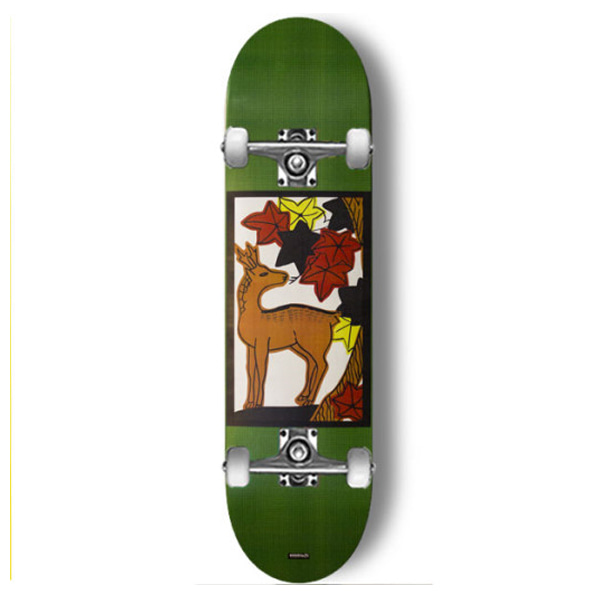 모노파틴 스케이트보드 컴플릿  # / 사이즈 선택 MONOPATIN FLOWER CARDS-MAPLE FULL CUSTOM COMPLETE SKATEBOARD DESIGN BY MONOPATIN 사이즈 선택