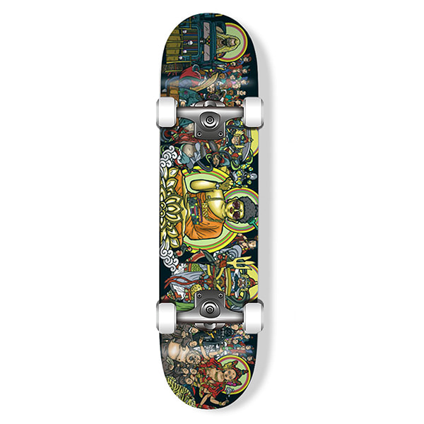 "모노파틴 스케이트보드 컴플릿  / 사이즈 선택 MONOPATIN X DOLTAE COLLABORATION ""TANHWA"" COMPLETE SKATEBOARD"