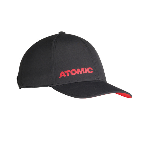 1819 아토믹 스키 모자 알프스 캡_ATOMIC (AL5041210) ALPS CAP BLACK/BRIGHT RED_IAT803YH