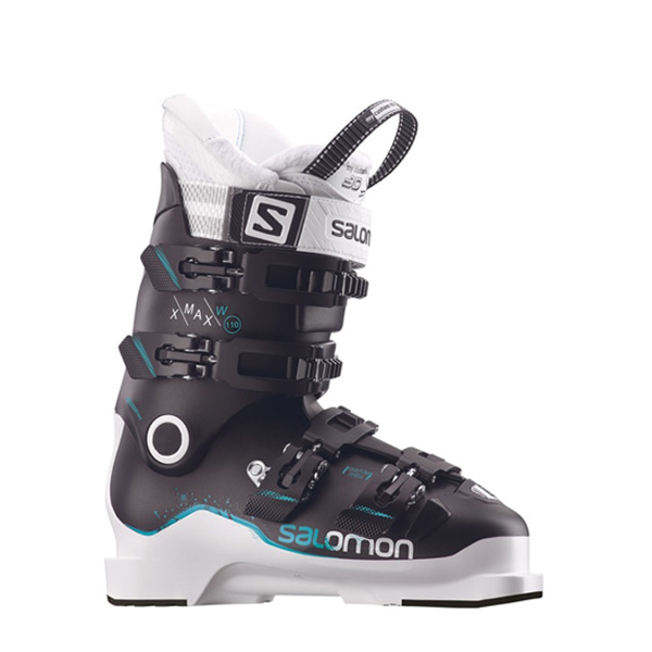 살로몬 여성 부츠 엑스 맥스 110 SALOMON X MAX 110 W L39945900 BK/WH/TOP GREEN_0SA710B4
