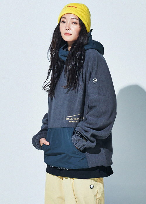 가프 플리스 웜 업 후디_후드티_1920 GAFH(DGHD001GY)FLEECE WARM UP HOODIE_GRAY_RG4902Y4 [06]