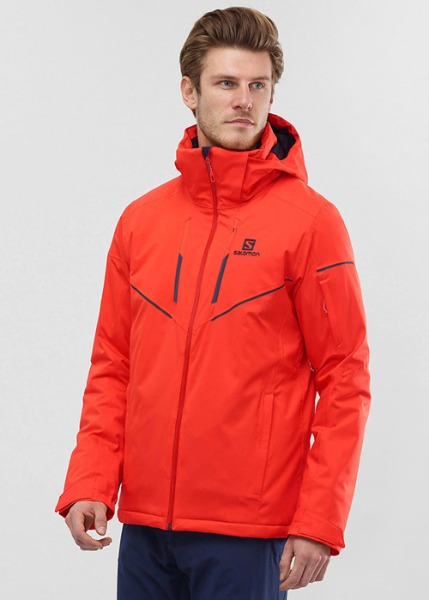 [K051] 상의 : SALOMON_STORMRACE JKT_CHERRY TOMATO 하의 : SALOMON_STORMSEASON PANT_NIGHT SKY 6SA906T0+6SA9118R