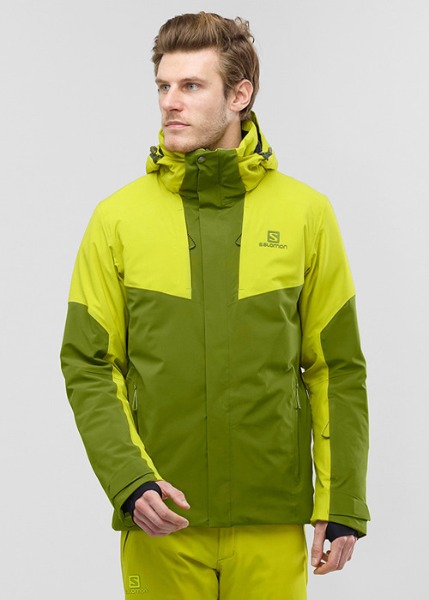 [K050] 상의 : SALOMON_ICEROCKET JKT_AVOCADO-CITRONELL 하의 : SALOMON_ICEGLORY PANT_AVOCADO 6SA90849+6SA91249