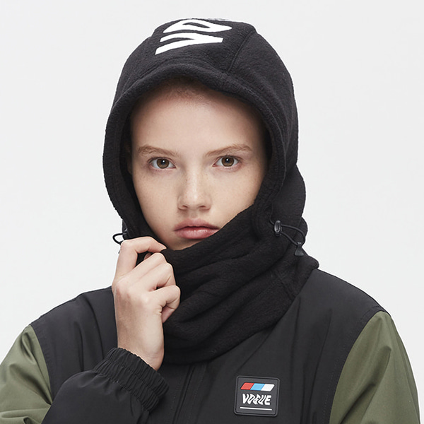 카레타 플리스 후드워머_1920 KARETA()FLEECE HOOD WARMER_BLACK 19/20_LKR902BK [04]