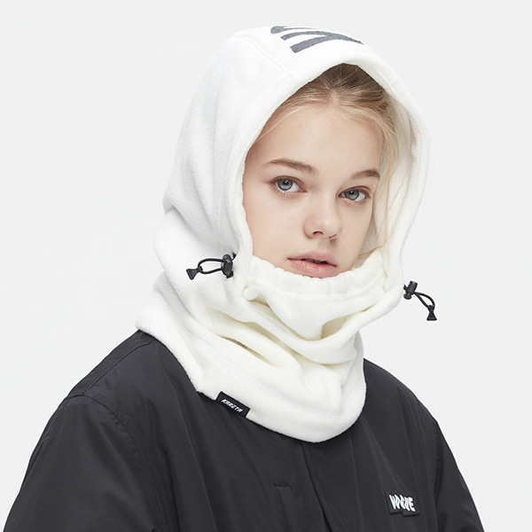 카레타 플리스 후드워머_1920 KARETA()FLEECE HOOD WARMER_WHITE_LKR902WH [05]