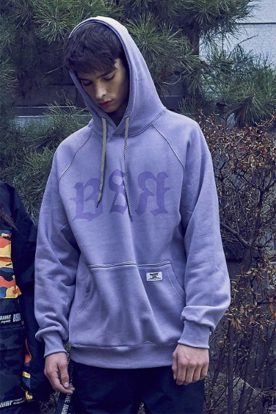 비에스래빗 BSR 후디_남녀공용_1920 BSRABBIT_BSR HOODIE_LIGHT PURPLE_RBS904PU [09]_FRBS904PU